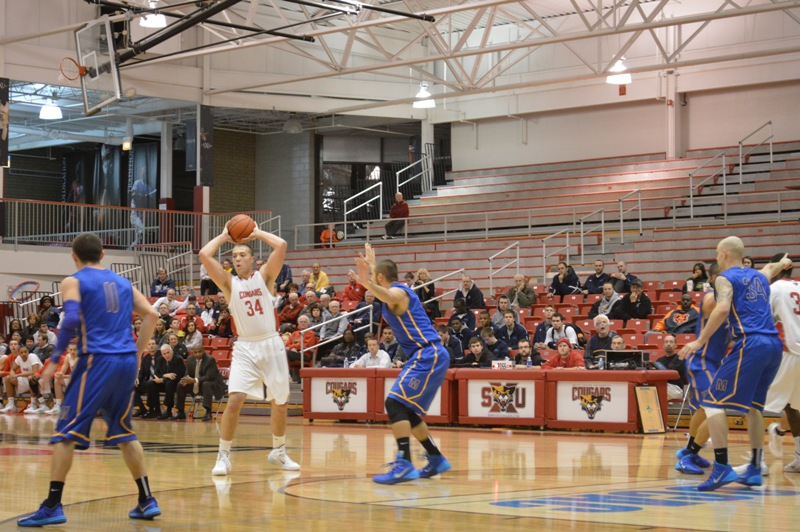 4th SXU Men's Basketball vs Madonna (Mich.) 11/29/13 Photo