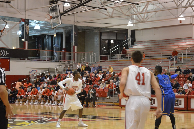 7th SXU Men's Basketball vs Madonna (Mich.) 11/29/13 Photo