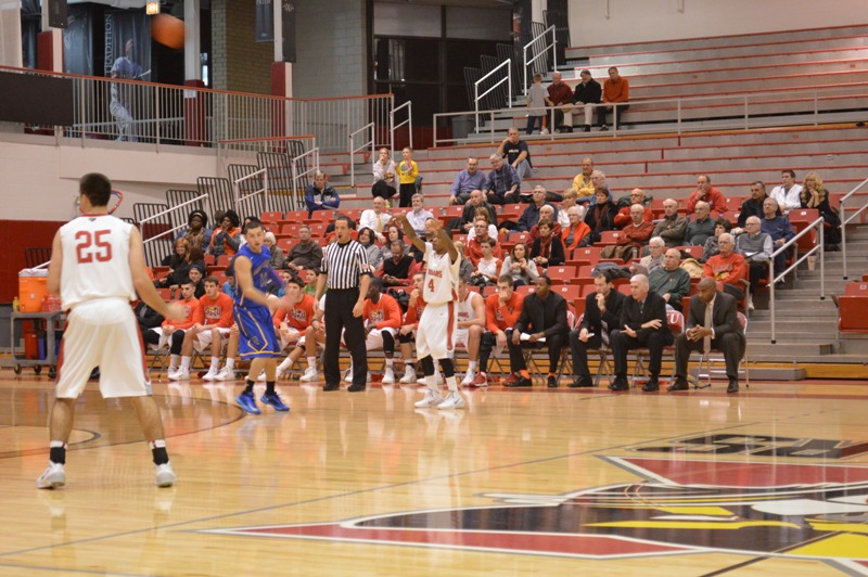 10th SXU Men's Basketball vs Madonna (Mich.) 11/29/13 Photo