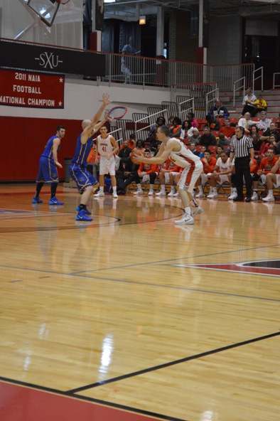 14th SXU Men's Basketball vs Madonna (Mich.) 11/29/13 Photo