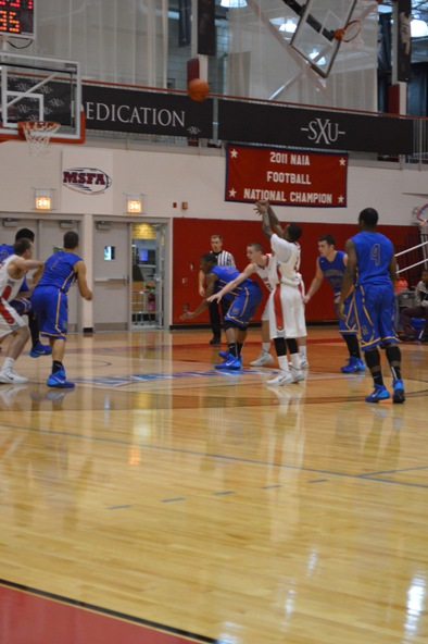 17th SXU Men's Basketball vs Madonna (Mich.) 11/29/13 Photo