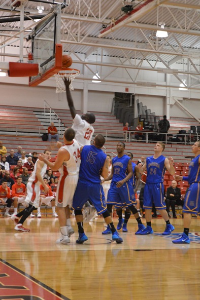 19th SXU Men's Basketball vs Madonna (Mich.) 11/29/13 Photo