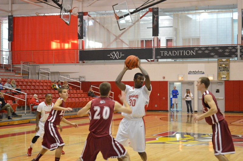 1st SXU Men's Basketball vs IU-East (Ind.) 11/30/13 Photo