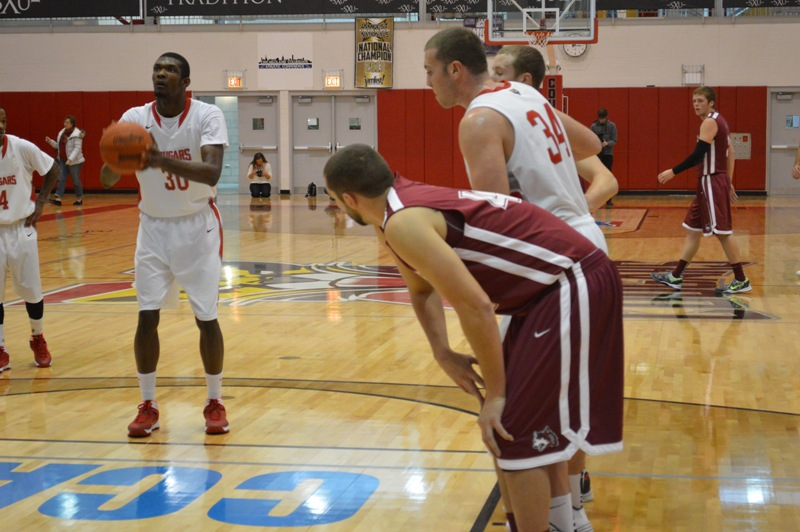 5th SXU Men's Basketball vs IU-East (Ind.) 11/30/13 Photo