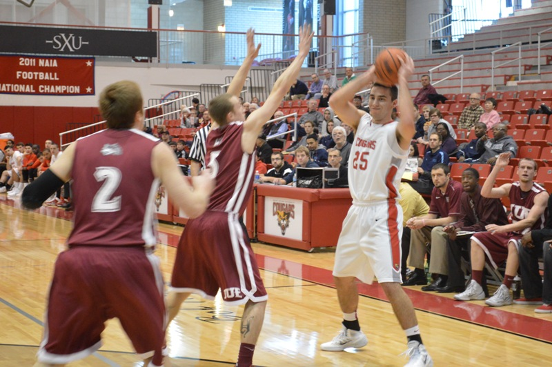 6th SXU Men's Basketball vs IU-East (Ind.) 11/30/13 Photo