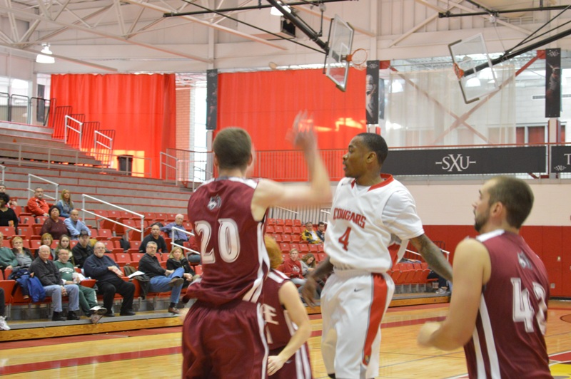 7th SXU Men's Basketball vs IU-East (Ind.) 11/30/13 Photo