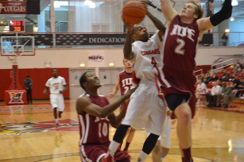 11th SXU Men's Basketball vs IU-East (Ind.) 11/30/13 Photo