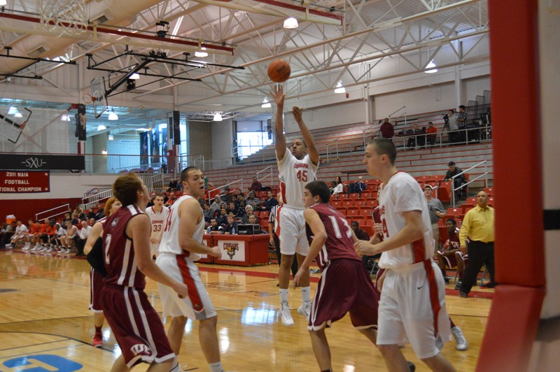 16th SXU Men's Basketball vs IU-East (Ind.) 11/30/13 Photo