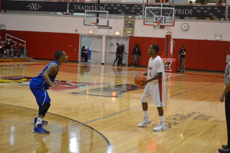 5th SXU Men's Basketball vs Trinity Int'l. (Ill.) 12/3/13 Photo