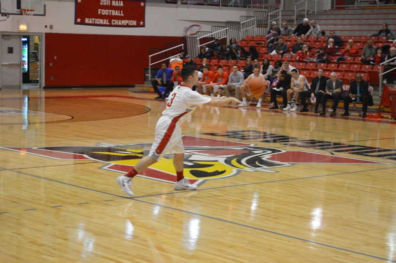 10th SXU Men's Basketball vs Trinity Int'l. (Ill.) 12/3/13 Photo