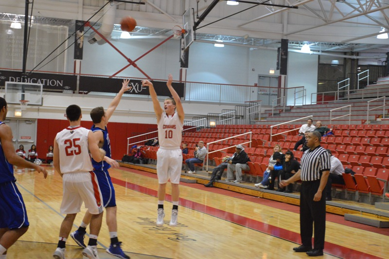 13th SXU Men's Basketball vs Trinity Int'l. (Ill.) 12/3/13 Photo