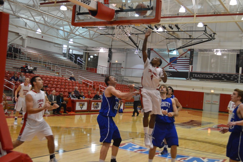 17th SXU Men's Basketball vs Trinity Int'l. (Ill.) 12/3/13 Photo