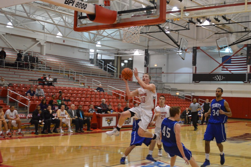 18th SXU Men's Basketball vs Trinity Int'l. (Ill.) 12/3/13 Photo