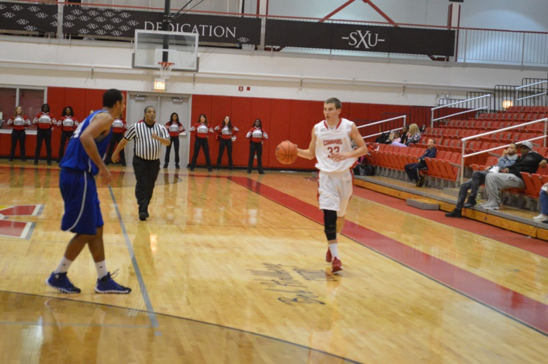 19th SXU Men's Basketball vs Trinity Int'l. (Ill.) 12/3/13 Photo