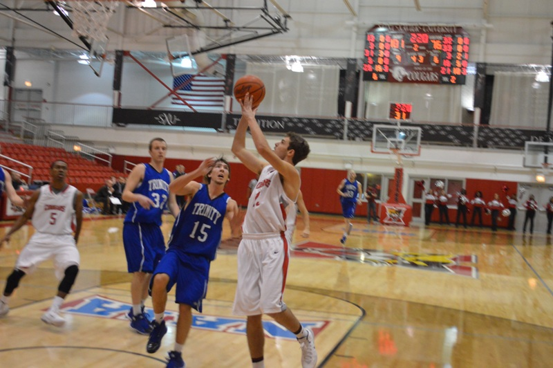 21st SXU Men's Basketball vs Trinity Int'l. (Ill.) 12/3/13 Photo