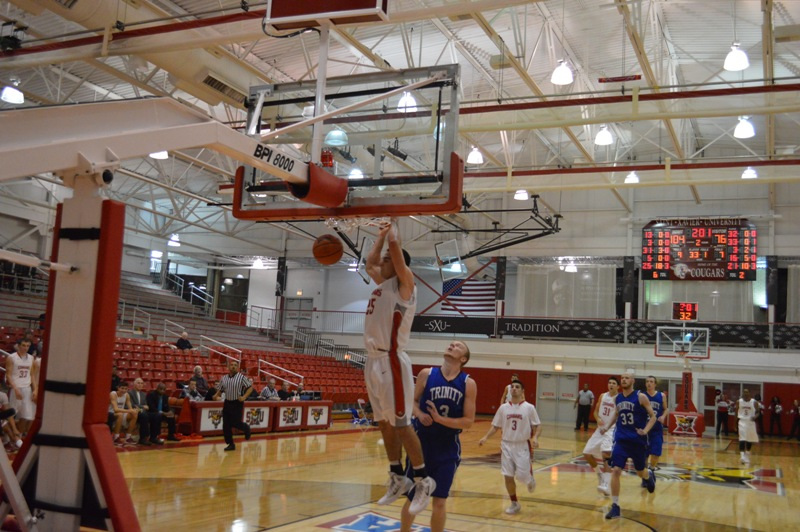 22nd SXU Men's Basketball vs Trinity Int'l. (Ill.) 12/3/13 Photo