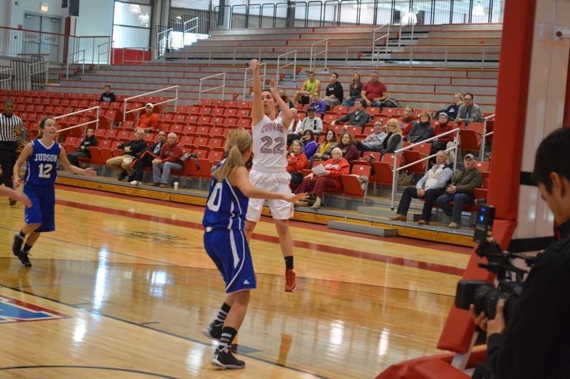 12th SXU Women's Basketball vs Judson (Ill.) 12/7/13 Photo
