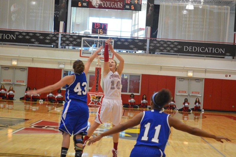 14th SXU Women's Basketball vs Judson (Ill.) 12/7/13 Photo