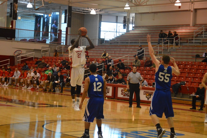 SXU Men's Basketball vs Judson (Ill.) 12/7/13 - Photo 7