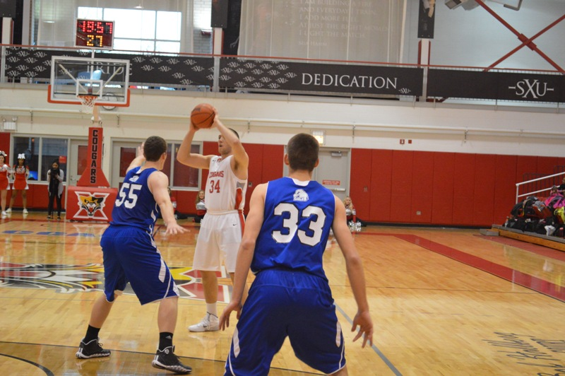 SXU Men's Basketball vs Judson (Ill.) 12/7/13 - Photo 8