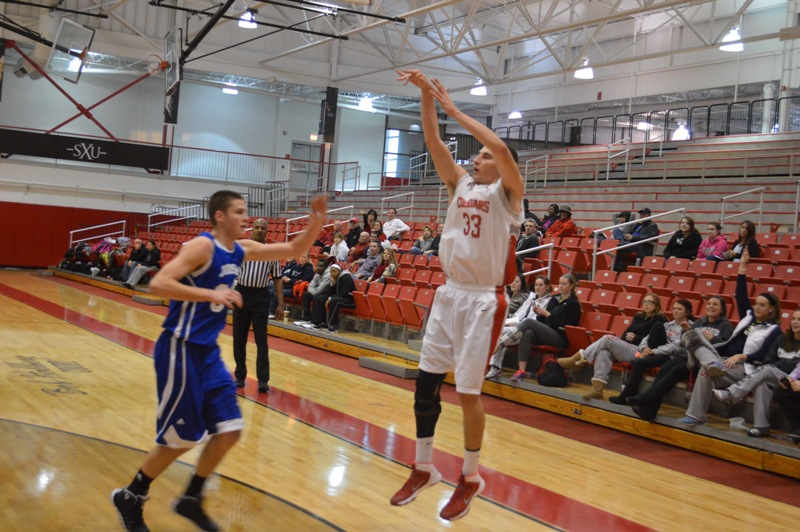 SXU Men's Basketball vs Judson (Ill.) 12/7/13 - Photo 10