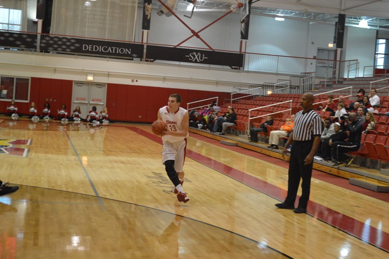 SXU Men's Basketball vs Judson (Ill.) 12/7/13 - Photo 12