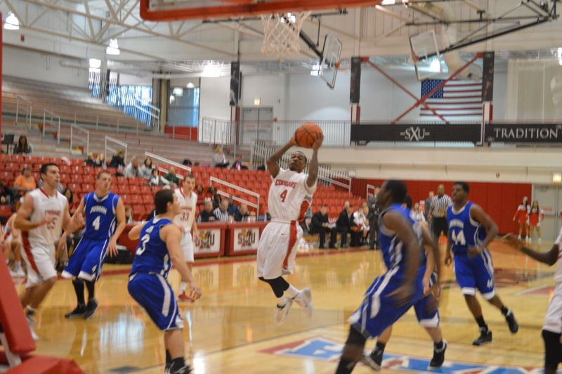 SXU Men's Basketball vs Judson (Ill.) 12/7/13 - Photo 13