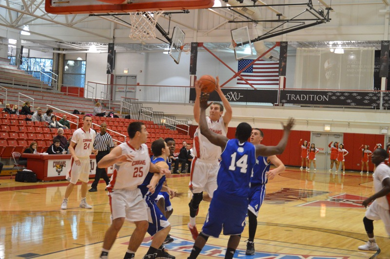 SXU Men's Basketball vs Judson (Ill.) 12/7/13 - Photo 14