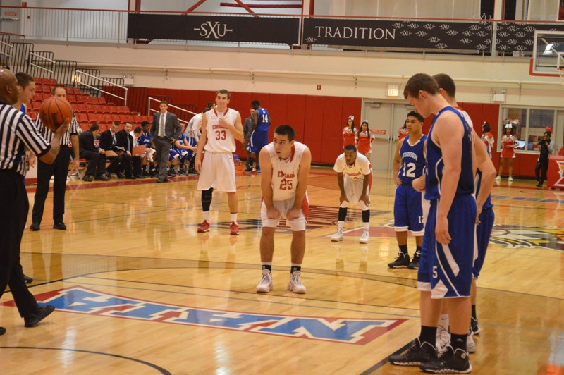 SXU Men's Basketball vs Judson (Ill.) 12/7/13 - Photo 15
