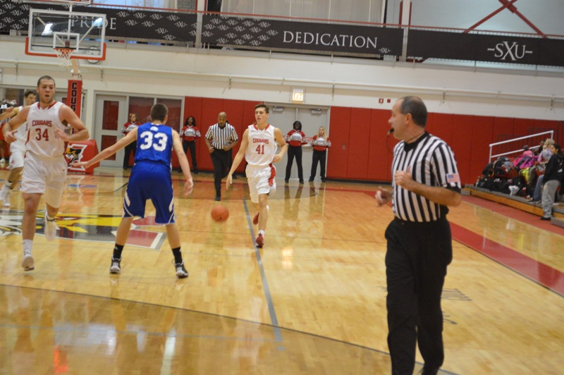 SXU Men's Basketball vs Judson (Ill.) 12/7/13 - Photo 18