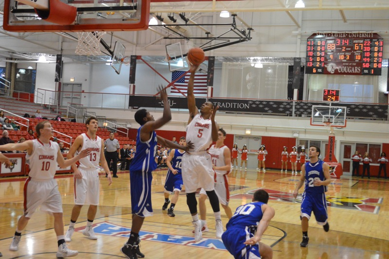 SXU Men's Basketball vs Judson (Ill.) 12/7/13 - Photo 24