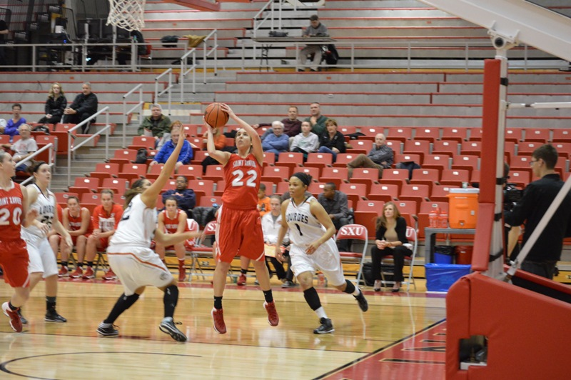 13th SXU Women's Basketball vs Lourdes (Ohio) 12/29/13 Photo