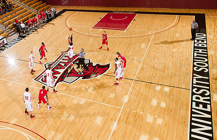 SXU Men's Basketball vs. IUSB 1-11-14 - Photo 5