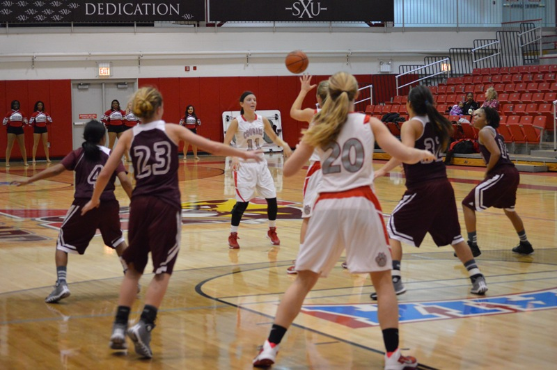 10th SXU Women's Basketball vs Calumet College (Ind.) 1/22/14 Photo