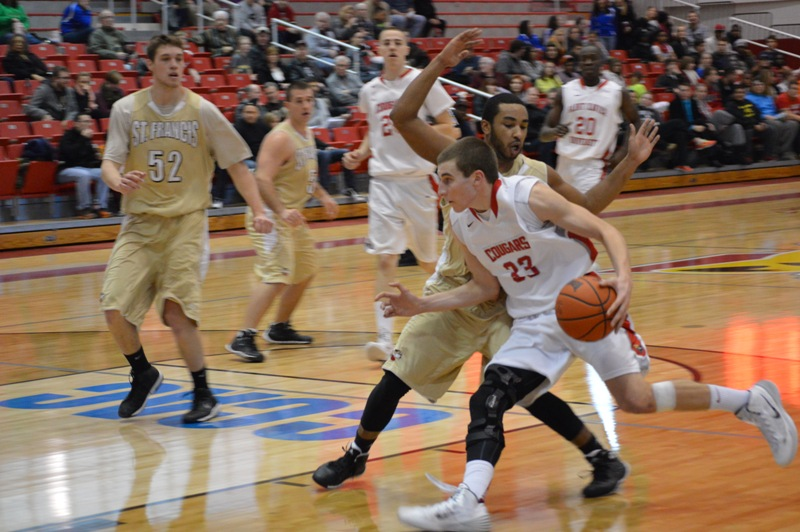 2nd SXU Men's Basketball vs St. Francis (Ill.) 1/25/14 Photo