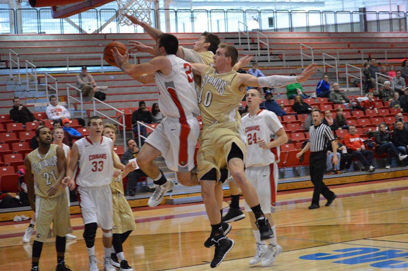 4th SXU Men's Basketball vs St. Francis (Ill.) 1/25/14 Photo
