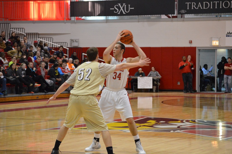 6th SXU Men's Basketball vs St. Francis (Ill.) 1/25/14 Photo