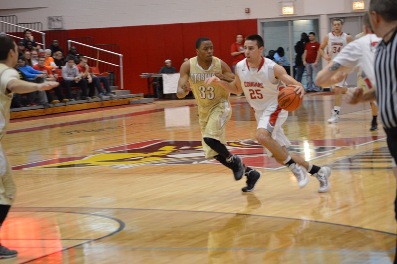 7th SXU Men's Basketball vs St. Francis (Ill.) 1/25/14 Photo