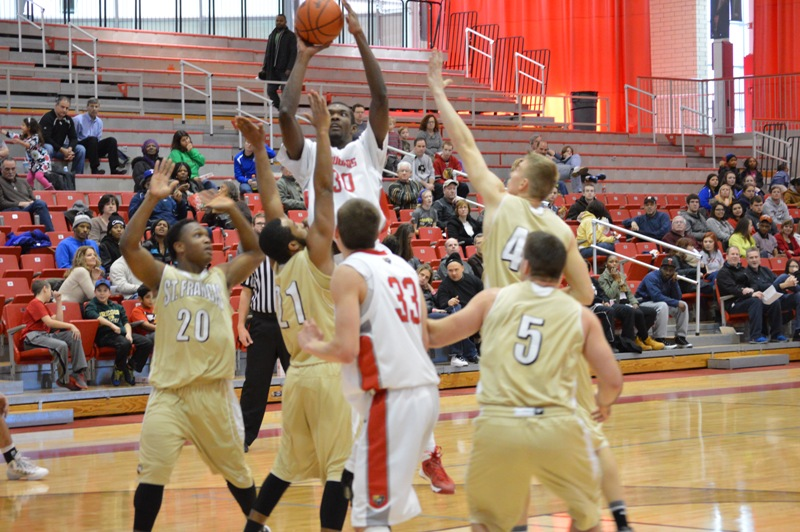 9th SXU Men's Basketball vs St. Francis (Ill.) 1/25/14 Photo