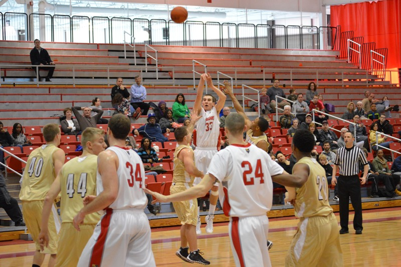 10th SXU Men's Basketball vs St. Francis (Ill.) 1/25/14 Photo