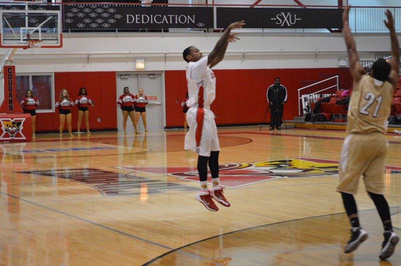 14th SXU Men's Basketball vs St. Francis (Ill.) 1/25/14 Photo