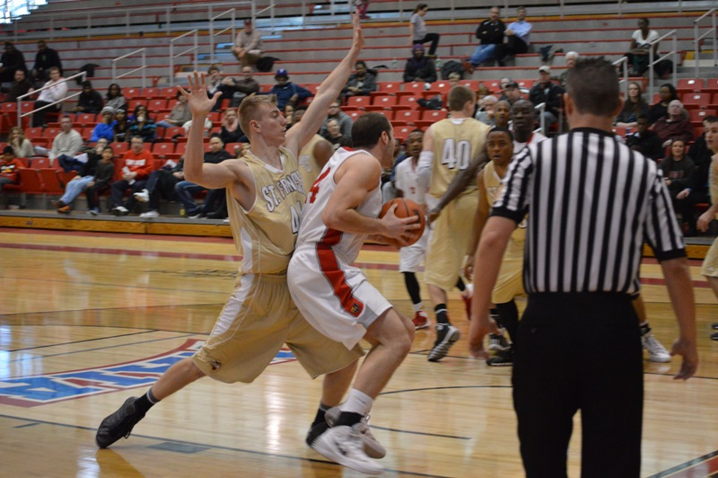17th SXU Men's Basketball vs St. Francis (Ill.) 1/25/14 Photo