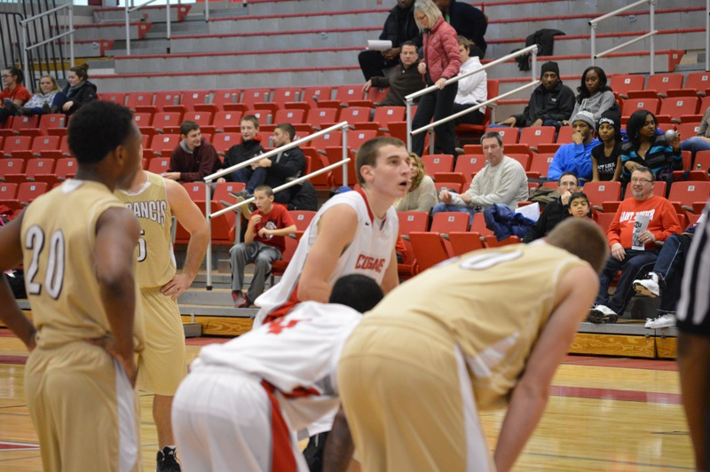 18th SXU Men's Basketball vs St. Francis (Ill.) 1/25/14 Photo