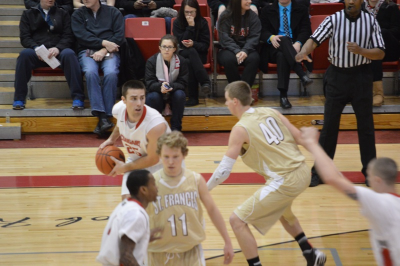 20th SXU Men's Basketball vs St. Francis (Ill.) 1/25/14 Photo