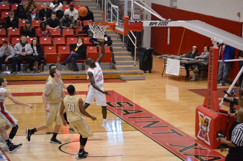 21st SXU Men's Basketball vs St. Francis (Ill.) 1/25/14 Photo