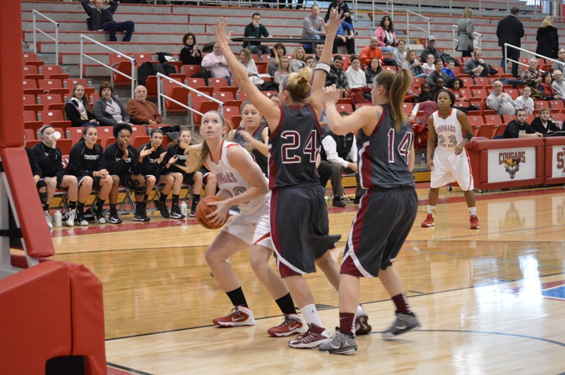 SXU Women's Basketball vs Cardinal Stritch (Wis.) 2/1/14 - Photo 4