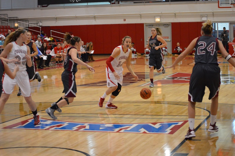 SXU Women's Basketball vs Cardinal Stritch (Wis.) 2/1/14 - Photo 7