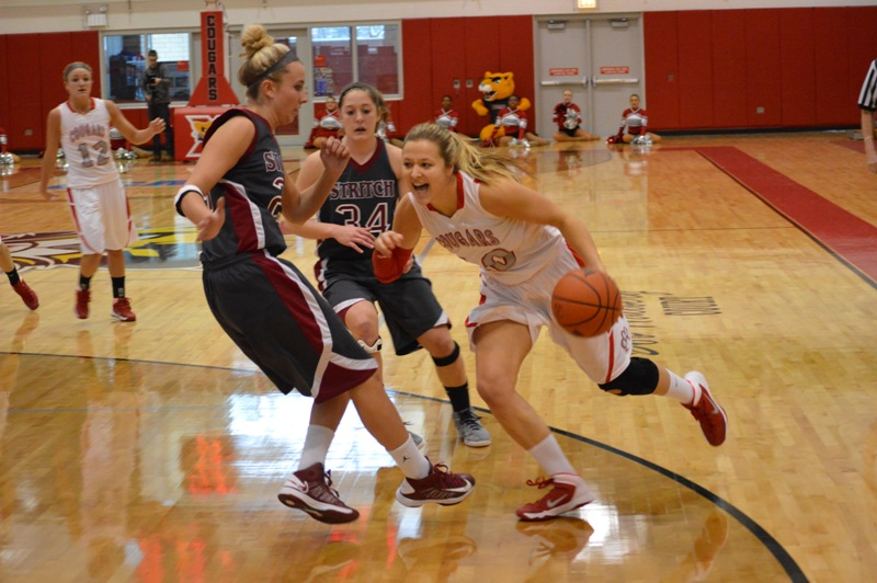 SXU Women's Basketball vs Cardinal Stritch (Wis.) 2/1/14 - Photo 8