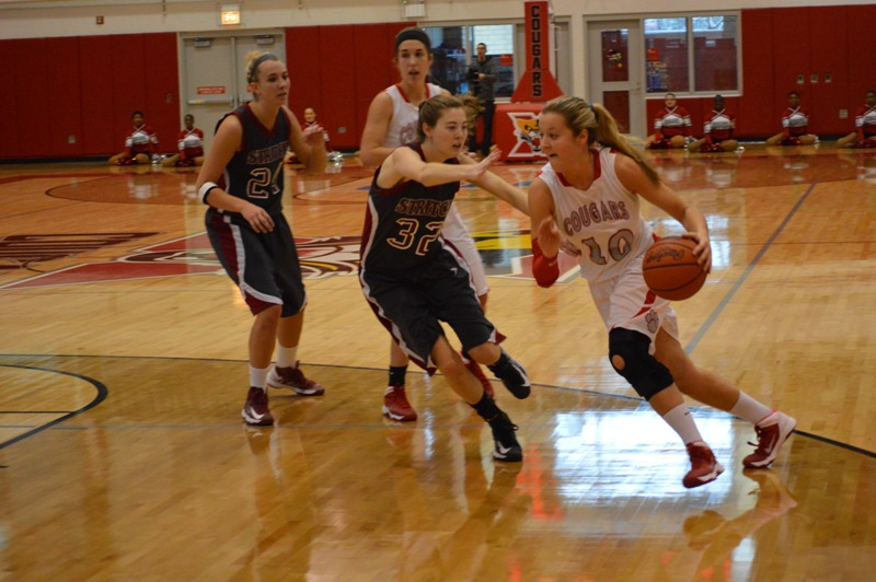 SXU Women's Basketball vs Cardinal Stritch (Wis.) 2/1/14 - Photo 11