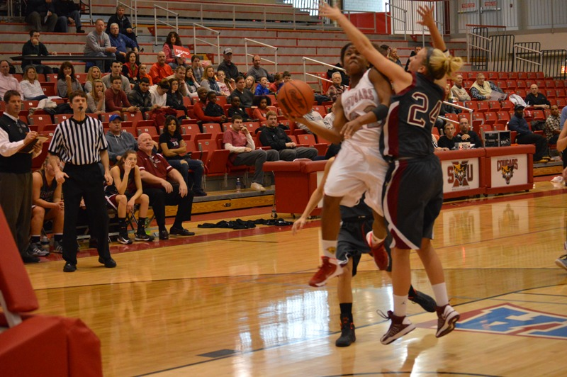 SXU Women's Basketball vs Cardinal Stritch (Wis.) 2/1/14 - Photo 15